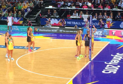Maybe no one will notice if netball slowly becomes basketball
