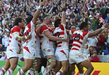 The Springboks must always remember Japan