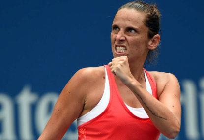 Roberta Vinci vs Flavia Pennetta: 2015 US Open final live scores