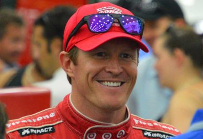 Scott Dixon wins the Genesys 300 at Texas Motor Speedway
