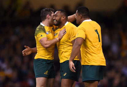 Wallabies wallop Fiji in their first match