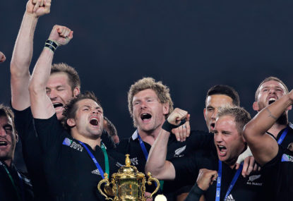 SPECIAL SPIRO: How the Webb Ellis Cup was won in a land that rumbles