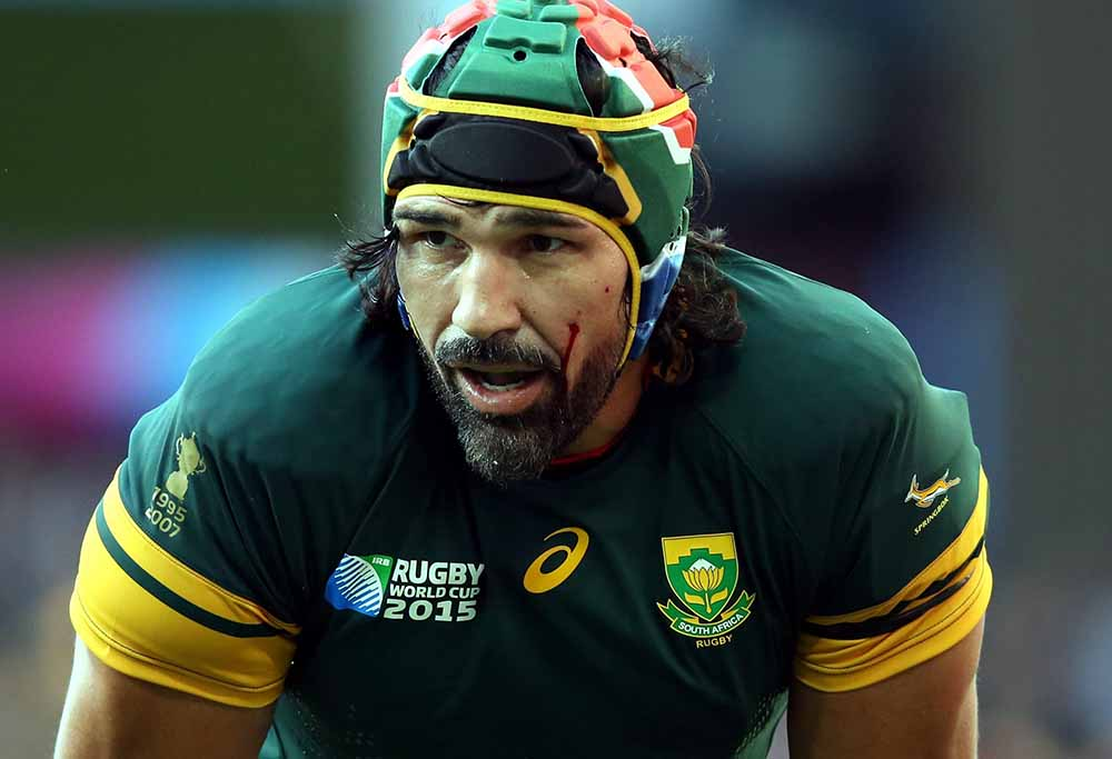 South Africa's Victor Matfield