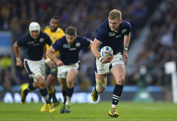 Finn Russell for Scotland