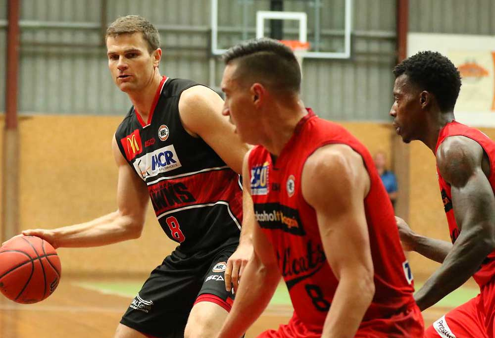 The Illawarra Hawks take on the Perth Wildcats