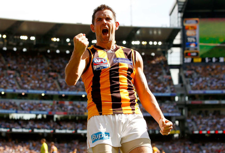 Love him or hate him, Luke Hodge is an AFL great