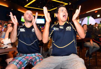 Scotland crush Argentina in rugby Test
