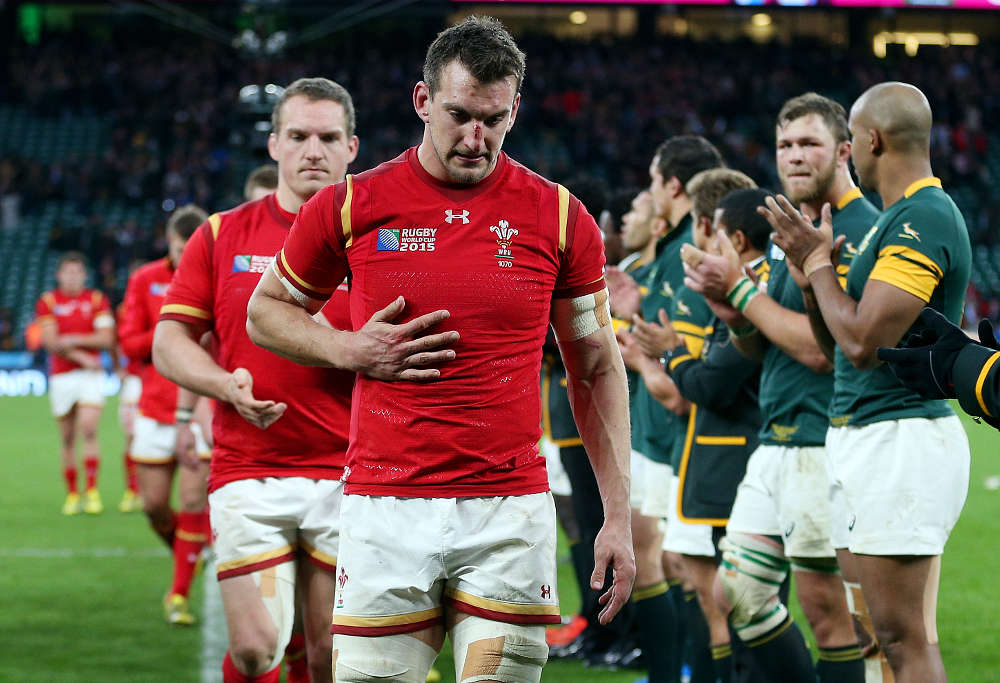 Wales captain Sam Warburton after loss to South Africa Rugby World Cup 2015