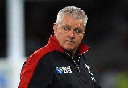 Warren Gatland shocked at assistant coach's RWC ban