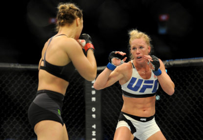 How Holm shocked the world that Rousey built