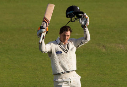 BJ Watling's century helps the Black Caps move ahead against England