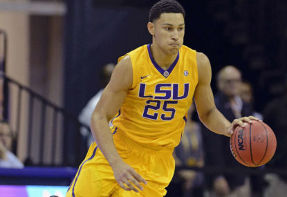 Ben Simmons' 76ers debut cut short
