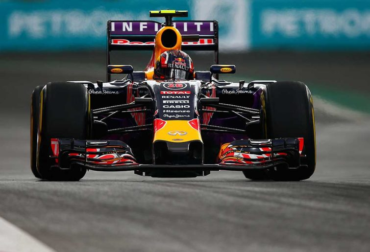 Daniil Kvyat of Russia and Infiniti Red Bull Racing