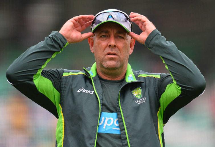 Australia's coach Darren Lehmann
