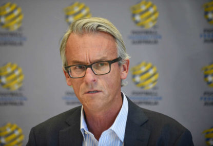 Thanks for your service, David Gallop, but let's hope James Johnson is something completely different