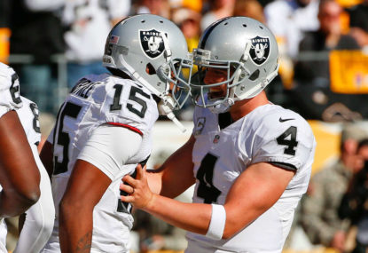 Raiders in trouble as the Silver and Black set sail for Sin City