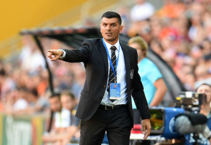 Can John Aloisi coach Brisbane Roar out of the hole they're in?