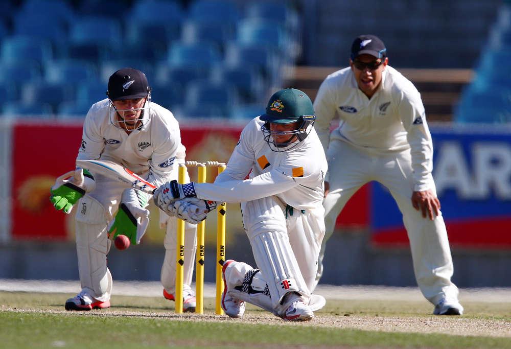 Cricket Australia's XI Usman Khawaja