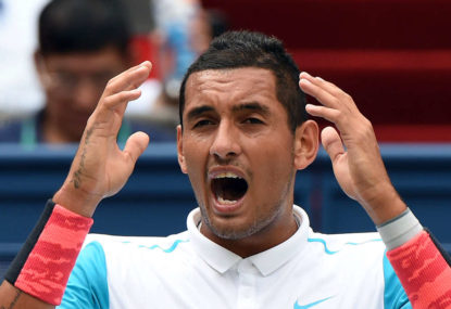 Is Kyrgios our most unfairly criticised athlete?