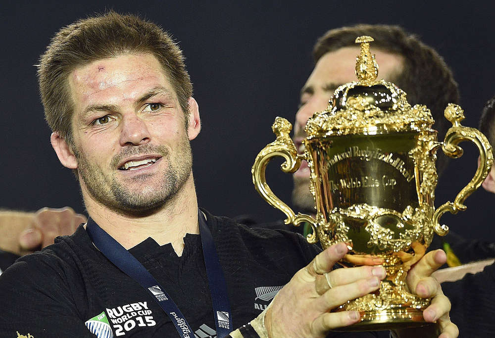 All Blacks captain Richie McCaw