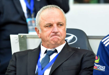 Graham Arnold isn't Ange Postecoglou, but they're not polar opposites