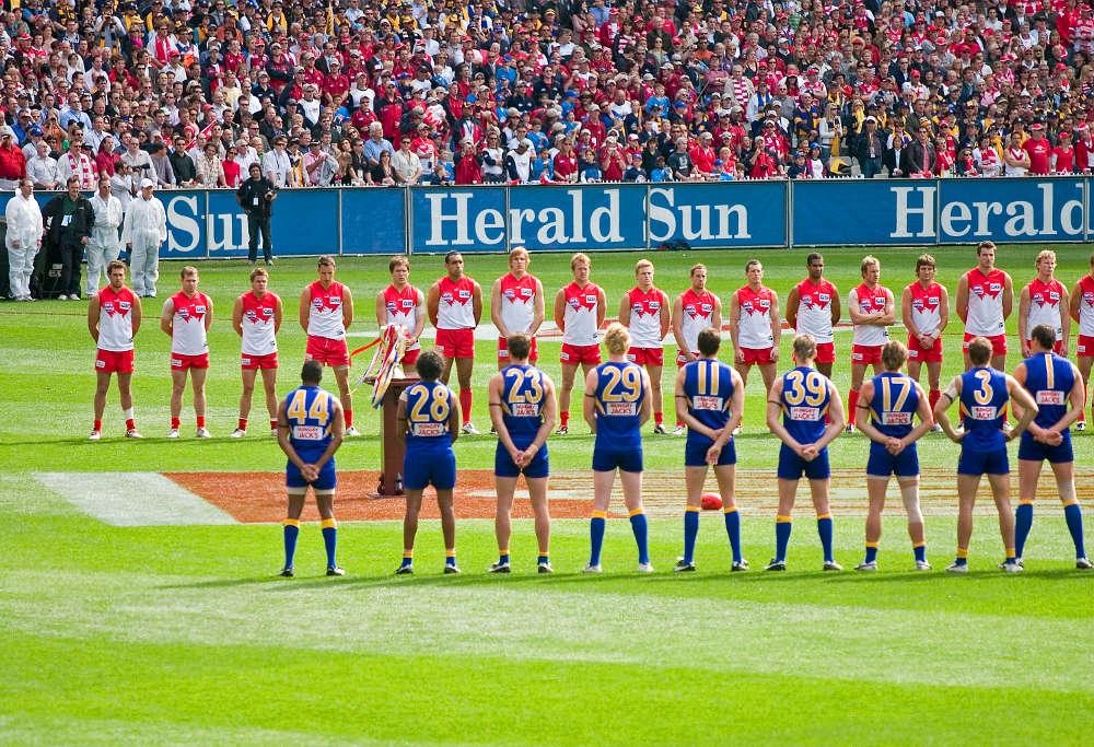 Sydney Swans West Coast Eagles 2006 AFL Grand Final