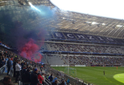 Is German football in a state of decline?