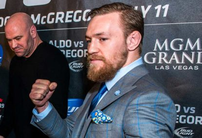 What footballers can learn from Conor McGregor