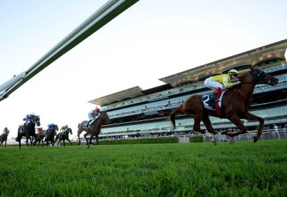 Sydney's tracks are simply not up to Group 1 standard