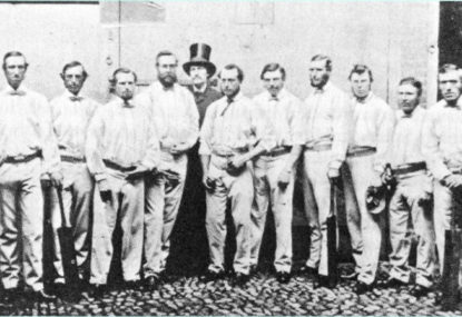 Drunken entertainment: The roots of Australian cricket
