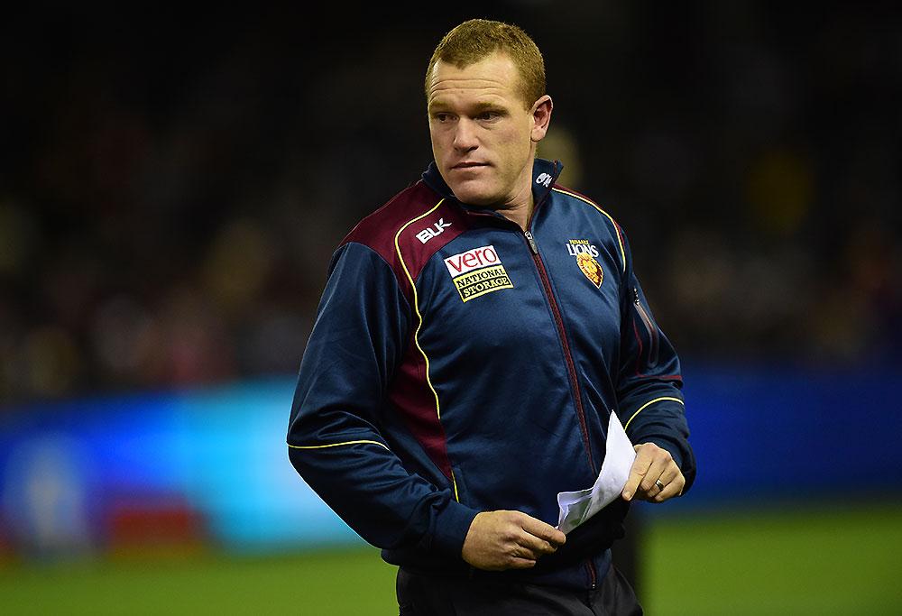 Brisbane Lions coach Justin Leppitsch