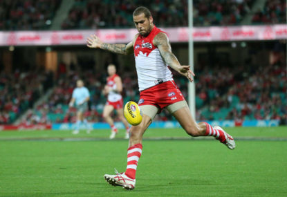 The Sydney Swans are rightful flag favourites