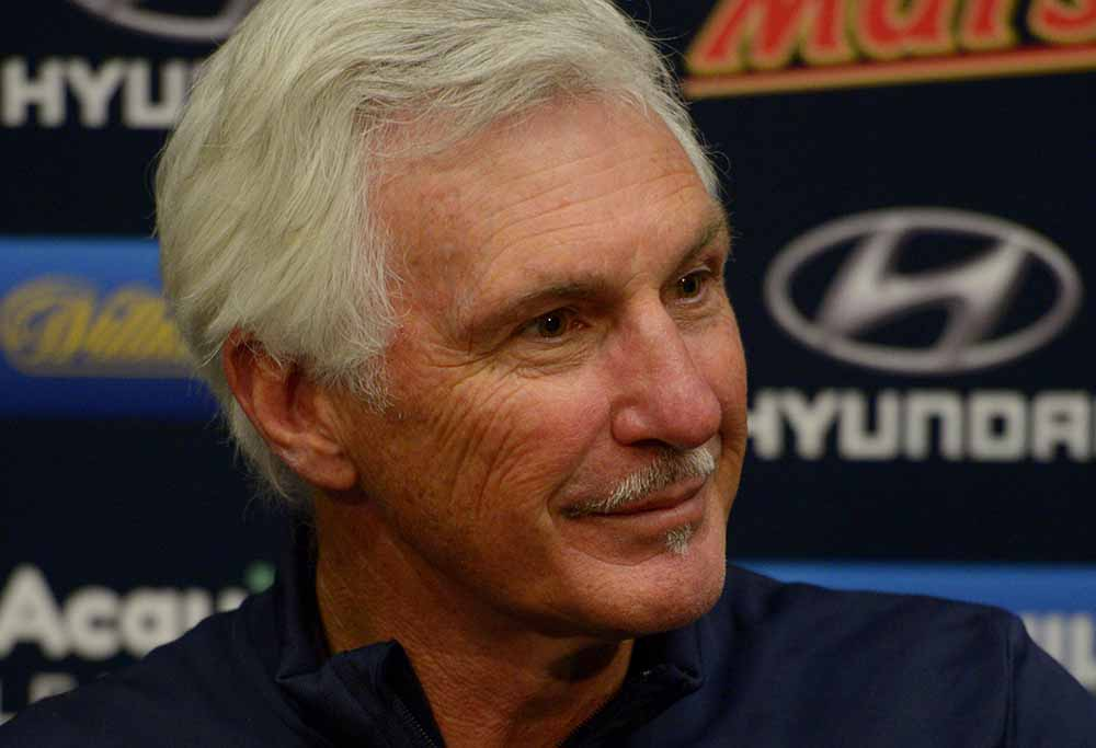 Coach Mick Malthouse