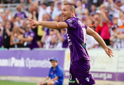 Perth Glory vs Newcastle Jets: A-League live scores