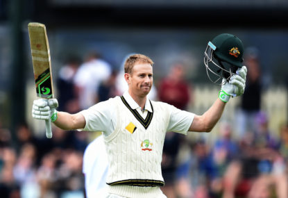 Should Adam Voges be dropped?