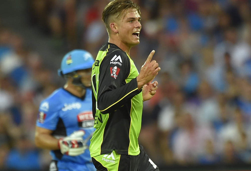 Chris Green of the Sydney Thunder (Photo: AAP Image/David Mariuz)