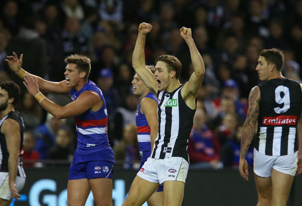Darcy Moore Collingwood Magpies AFL