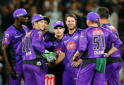 Hobart Hurricanes vs Melbourne Renegades highlights: Big Bash League cricket scores, blog