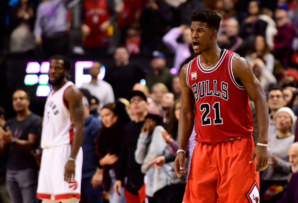 Jimmy Butler hits a winner
