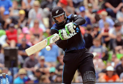 The Blackcaps' rollercoaster World Cup campaign
