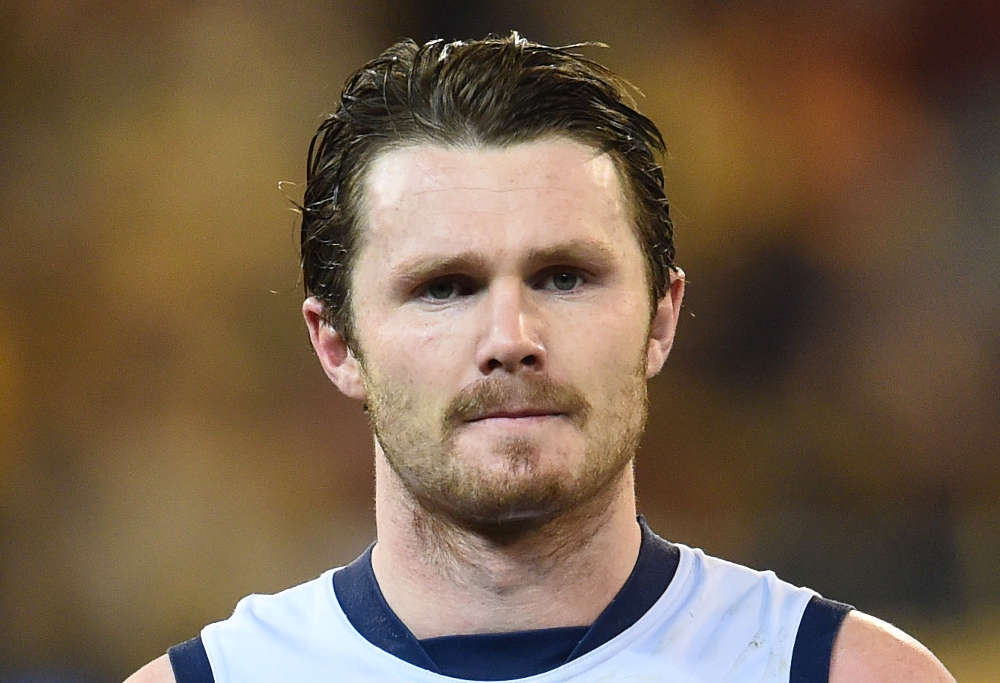Patrick Dangerfield looks on (Photo: AAP)