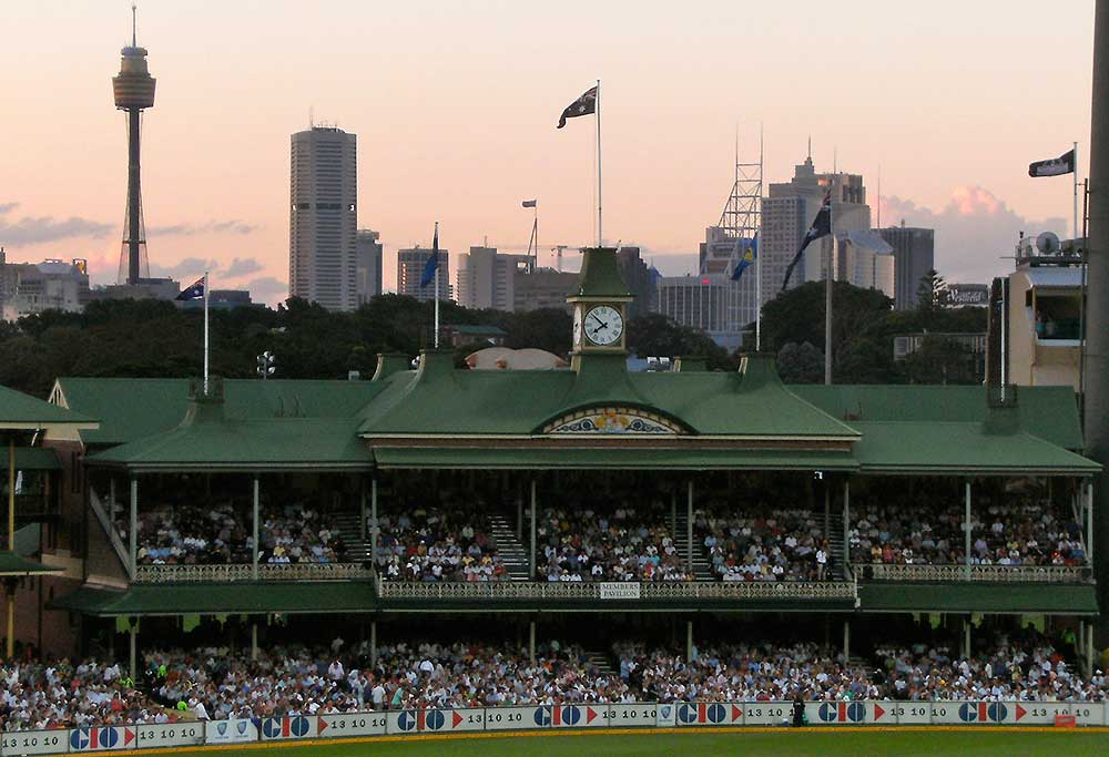 SCG members stand
