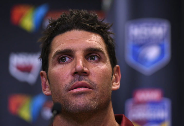 Manly Sea Eagles NRL coach Trent Barrett