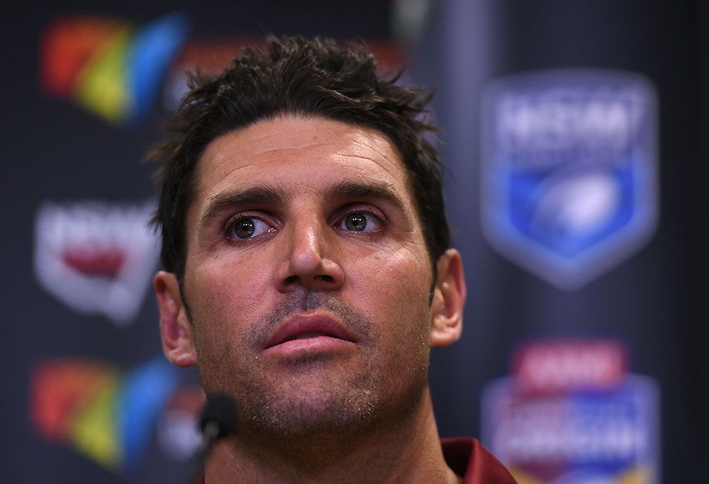 Manly Sea Eagles NRL coach Trent Barrett