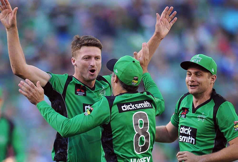Melbourne Stars bowler Jackson Bird