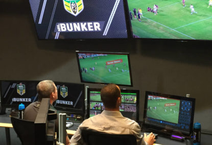 No video referee system is perfect, but the bunker comes close