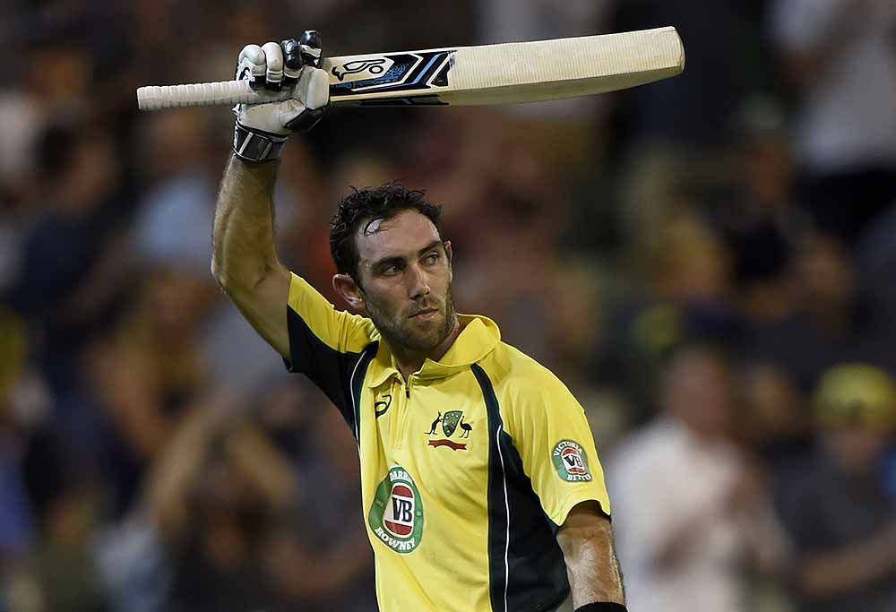 Glenn Maxwell out
