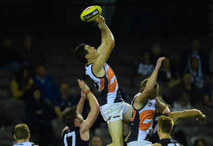 Giant plans for a very small AFL club
