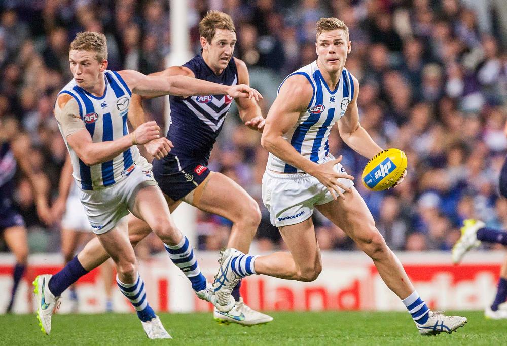 Mason Wood North Melbourne Kangaroos AFL 2015