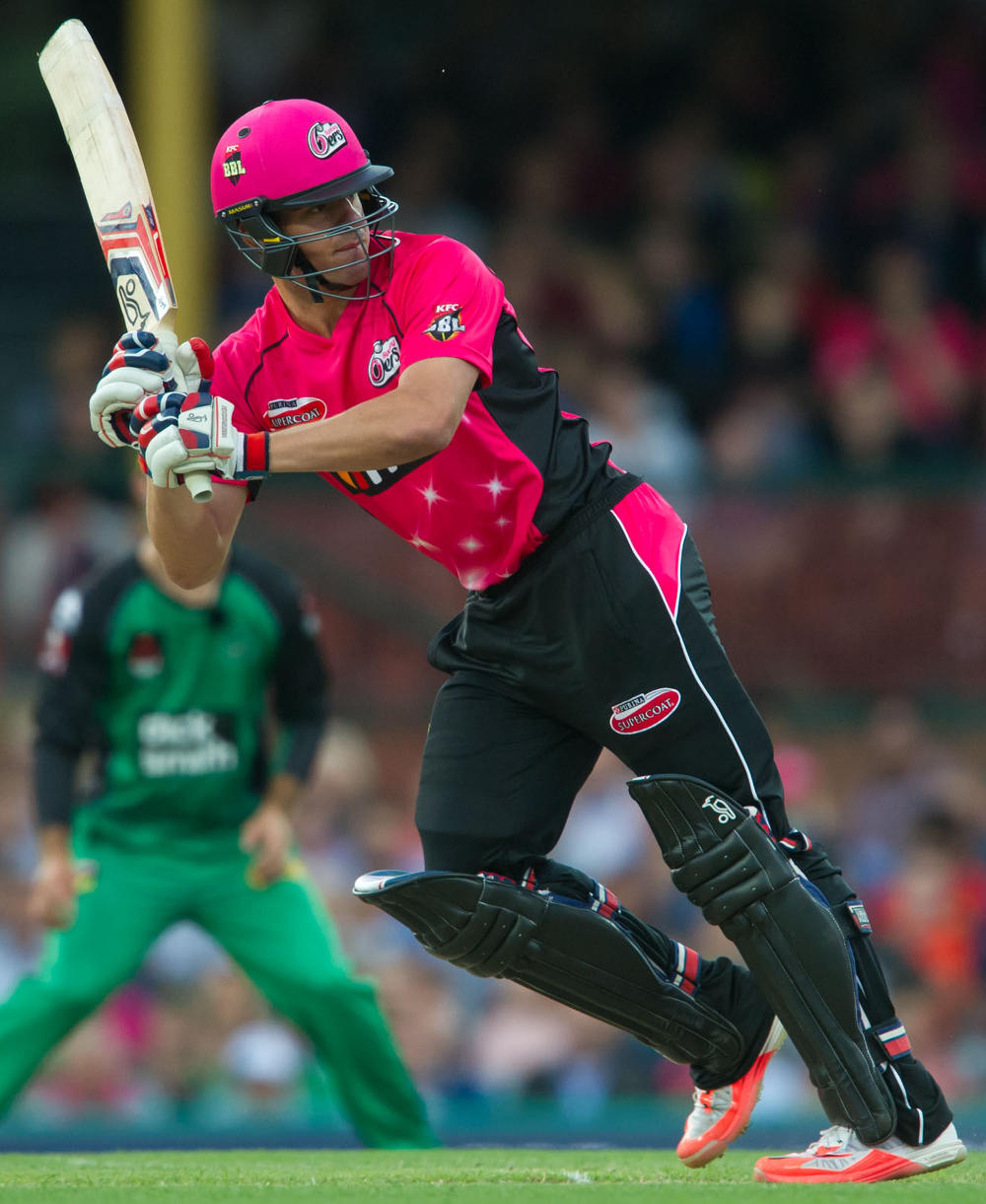 Moises Henriques of the Sydney Sixers